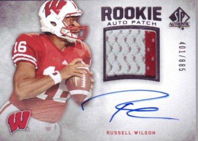 Russel Wilson Card