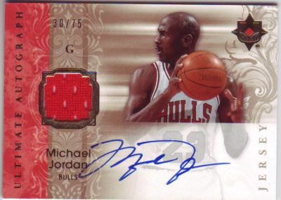 Basketball Card Michael Jordan Autographed