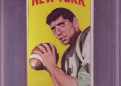 Joe Namath Football Card