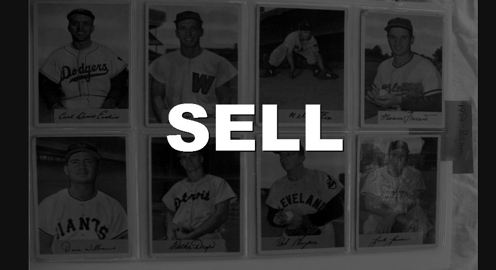 Sell Sportscards and Sports Memorabilia
